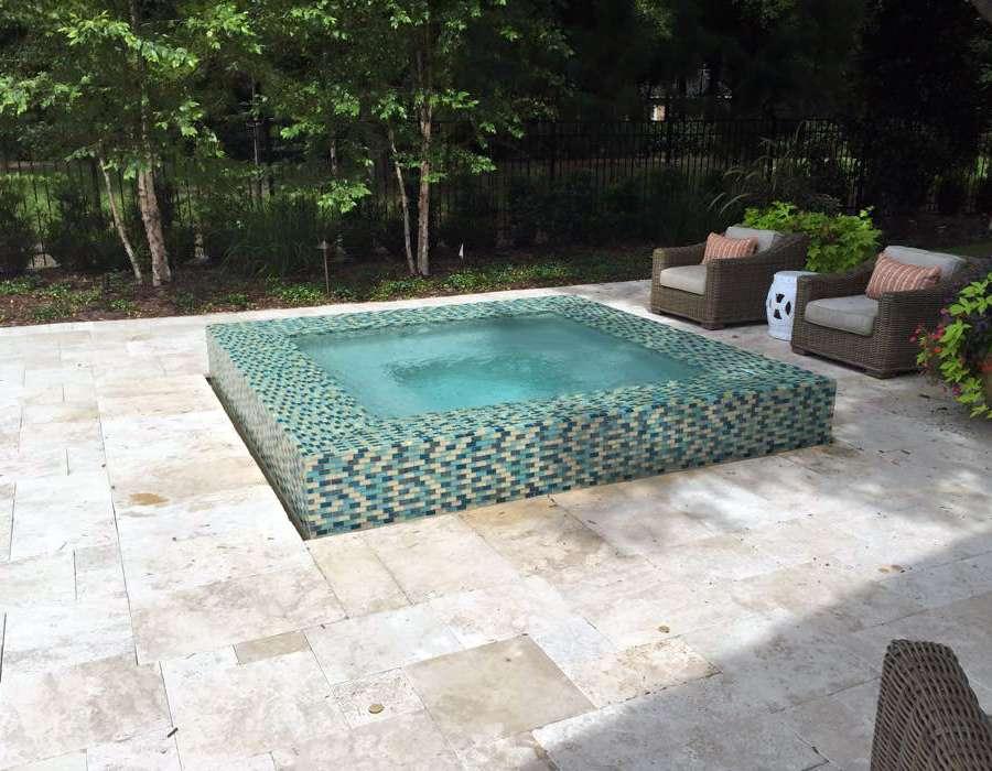 zero lot line pools, cocktail pools, small pool, orlando custom pool builder