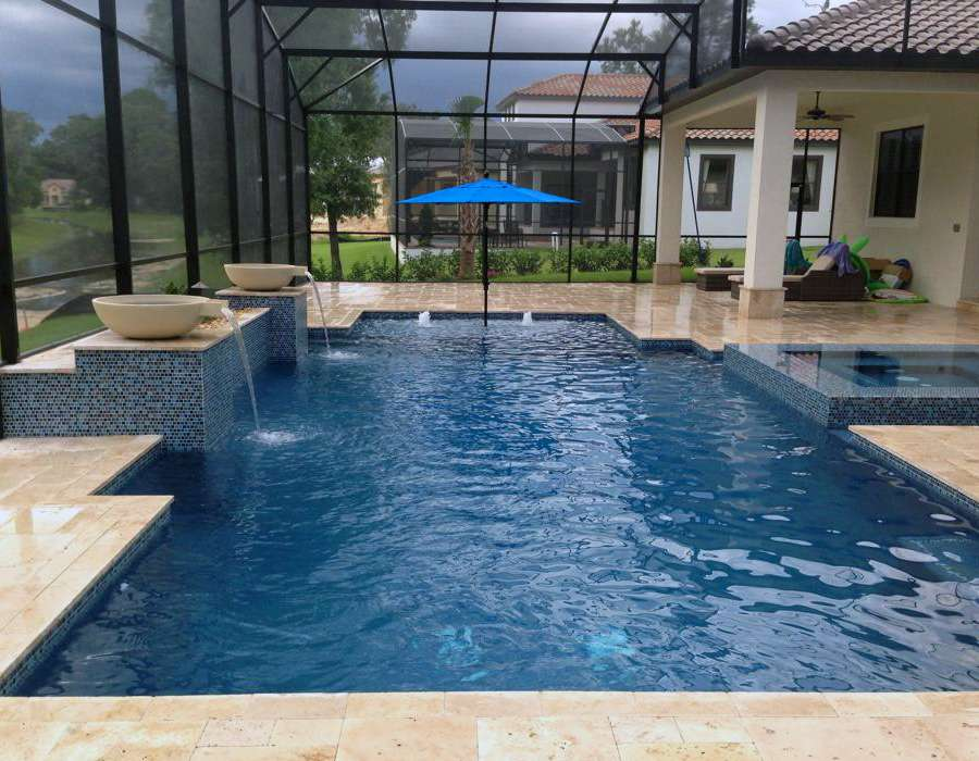 geometric pool design orlando florida