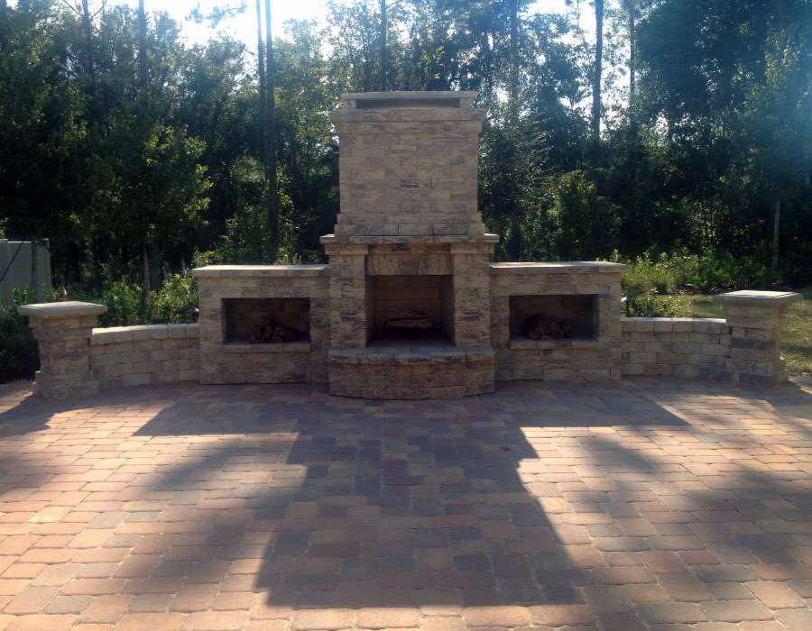 florida outdoor fireplace expert builder
