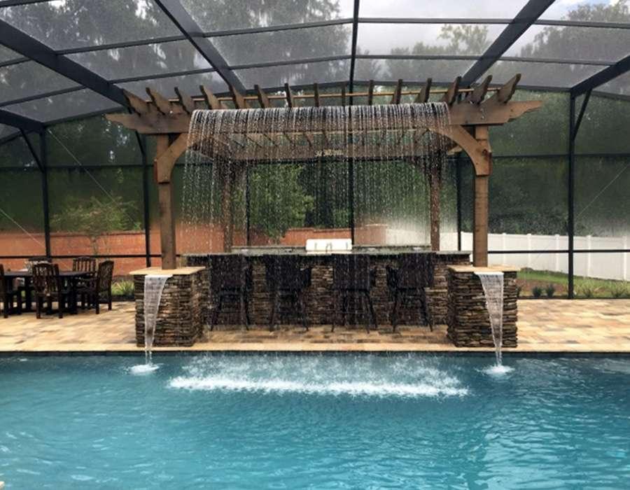 infinity pool design orlando florida